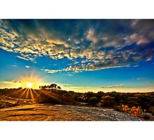 Sunday Sunrise. Photographic Print