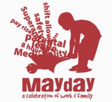 MayDay 2008 Fair & March - red print by unionswa