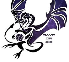 Save or Die - Black by Kaegro