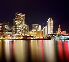 San Francisco Embarcadero in December by heyengel