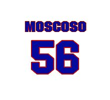 National baseball player Guillermo Moscoso jersey 56 Photographic Print