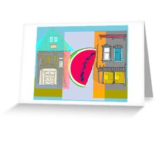 A Fruit Lives On My Block no1 Greeting Card