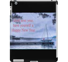 Until Next Year, Happy New Year iPad Case/Skin