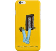 Hung Out to Dry in ITALY * iPhone Case/Skin