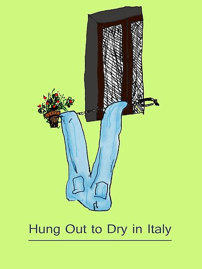 Hung Out to Dry in ITALY * by James Lewis Hamilton