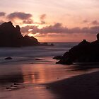 Big Sur Sunset by melastmohican