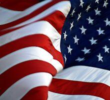 American Flag - Billowing by Ryan Houston