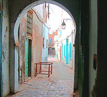 Tunis Alleyway by Tom Gomez