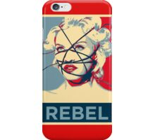 Madonna - Rebel iPhone Case/Skin