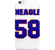 National baseball player Denny Neagle jersey 58 iPhone Case/Skin