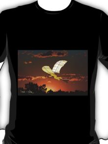 Leonardo de Vinci Aircraft - all products bar duvet T-Shirt