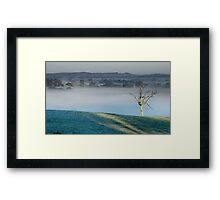 First Light ~ Nairne Framed Print