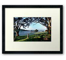 Nairne in the Adelaide Hills Framed Print