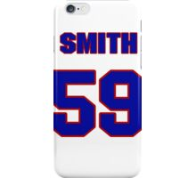 National baseball player Chris Smith jersey 59 iPhone Case/Skin