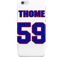 National baseball player Jim Thome jersey 59 iPhone Case/Skin