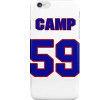 National baseball player Shawn Camp jersey 59 iPhone Case/Skin