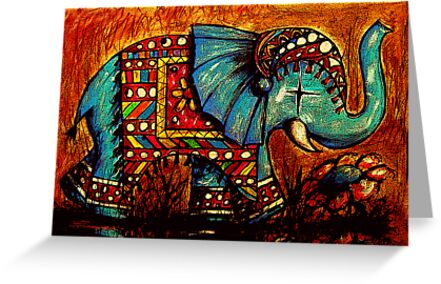 Rajah the Elephant by © Karin  Taylor