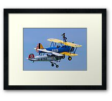 Miss in Formation Framed Print