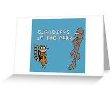 guardians of the park Greeting Card