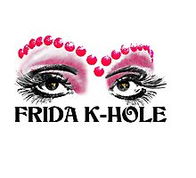 Frida K-Hole Eyes Photographic Print