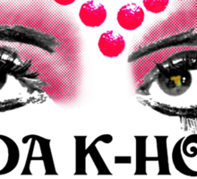 Frida K-Hole Eyes Sticker