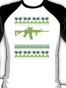 Funny AR-15 Ugly St. Patrick's Day Sweater T-Shirt and Gifts T-Shirt