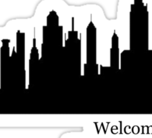 """Taylor Swift, Welcome to New York"" Sticker"