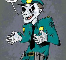 Vampire cop by Skinrash