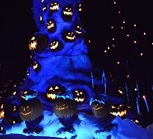 Disney Haunted Mansion Disney Nightmare Before Christmas by notheothereye
