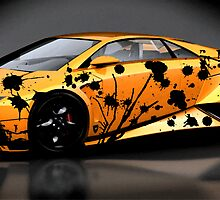 lambo art by John Helman