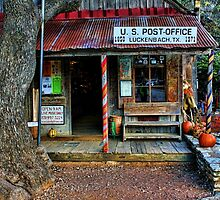 Luckenbach TX by Judy Vincent