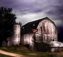 The White Barn by Karri Klawiter