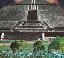Mayan Vacation Spot Sticker
