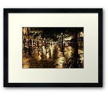 Paris at Night Framed Print