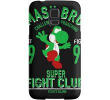 Yoshi Island Fighter Samsung Galaxy Case/Skin