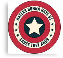 Haters Gunna Hate Alt Canvas Print
