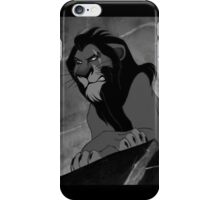 Scar - The Lion King iPhone Case/Skin