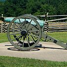 Cannon fire Gettysburg by Chris  Hayworth