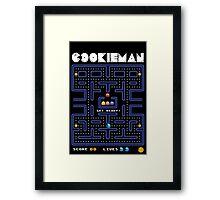 Cookie man! Framed Print
