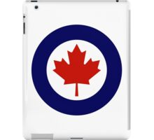 Roundel of the Royal Canadian Air Force iPad Case/Skin