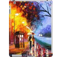 Starry Night Tardis Art Painting iPad Case/Skin
