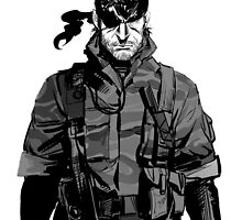 Metal Gear Solid Art by STOREBARCODE