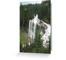 Pyramid Falls Greeting Card