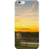 Country Sundown iPhone Case/Skin