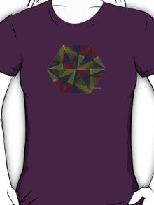sdd Triangle Abstract Fractal Mandala 4J T-Shirt