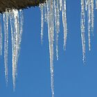 Icicles - Happy New Year! by Gilberte