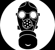 gasmask by thet's shirt
