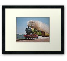 Full Steam Ahead Framed Print