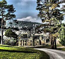castle margam park red bubble meet port talbot by zacco