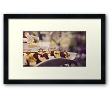 Cannoli Framed Print
